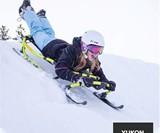 Yukon Hammerhead Pro HD Steerable Snow Sled