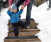 Snow-Melting Stair Mat