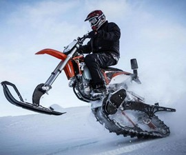 Mountain Horse Dirt Bike Snow Kits