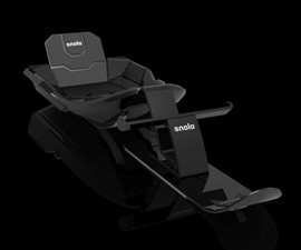 Stealth-X Carbon Fiber Snow Sled