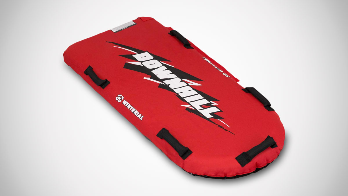 Winterial Downhill Inflatable Snow Sled