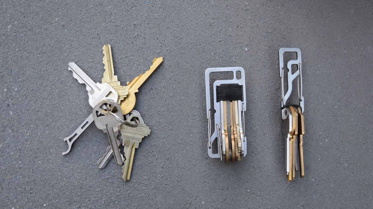 Key Titan - Your Keys, Silenced, Organized & Secured