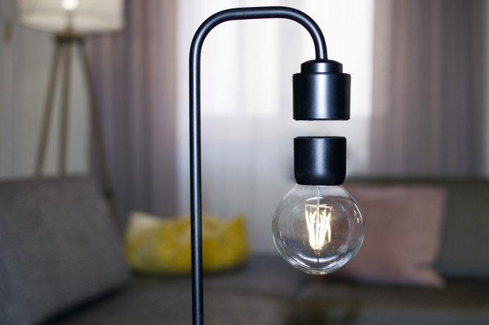 Levia Levitating Marble Lamp Dudeiwantthat Com
