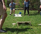 Bru-Bag - Cornhole Meets Beer Pong