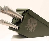 Delta Echo Ammo Can Knife Set