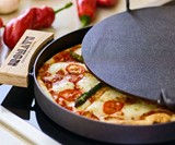 IRONATE - 3-Minute Brick Oven Pizza on Your Stovetop