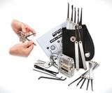 Secure Pro Practice Padlock & 15-Piece Lock Pick Set
