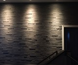 Slate-ish Paper Laminate Tile Wall Covering