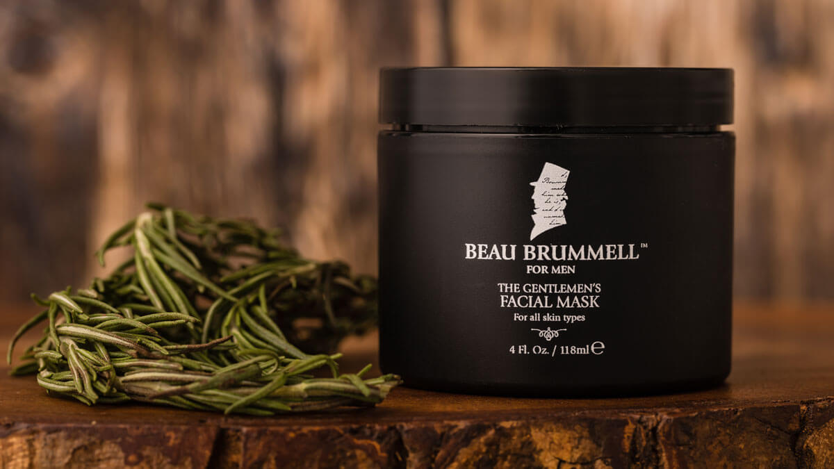 The Gentlemen's Face Mask by Beau Brummell for Men