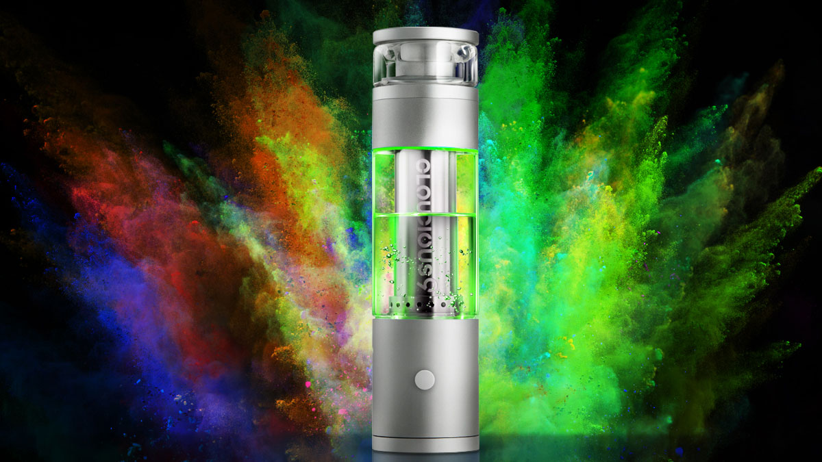 Vaporizer + Bong Hydrology9 by Cloudious9