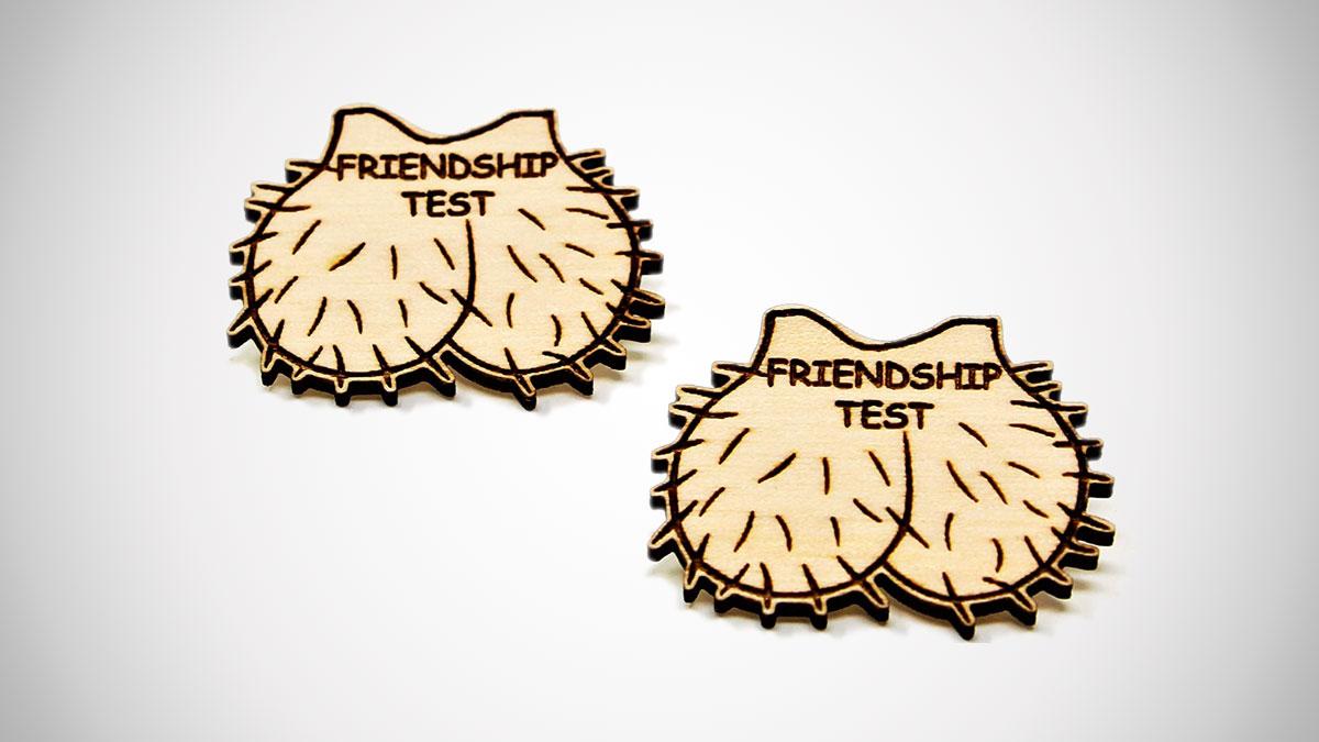 Friendship Test Pin Set