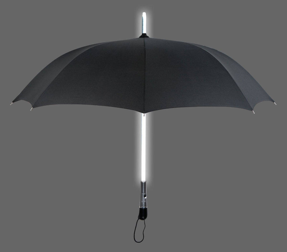 Blue Led Umbrella: LED Lightsaber Flashlight Umbrella