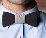 The Carl Wooden Bowtie
