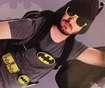 Batman Hooded & Winged Backpack