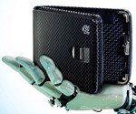 Bionic Hand Holding Biometric Wallet