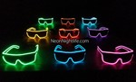 Glowing Sunglasses