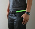 Green HALO LED Sport Belt