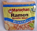 Recycled Ramen Noodle Pouch - Blue