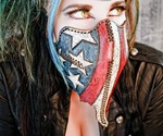 Team USA Motorcycle Mask