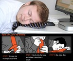 The Pillow Tie How To
