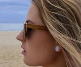 4EST Shades Floating Wood Sunglasses
