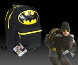 Batman Hooded & Winged Backpack
