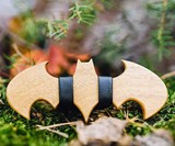Batman v. Superman Wooden Bow Ties