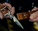 Belt Buckle Knife