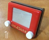 Etch A Sketch Belt Buckle