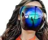 Full Face Mirror Sunglasses