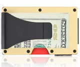Grid Antimicrobial Copper Wallet
