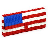 LEGO Purse - America Flag
