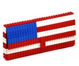 LEGO Purse - America Flag