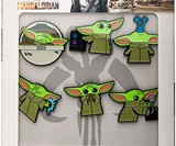 Limited Edition The Mandalorian The Child 6-Pin Set