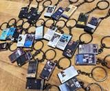 Miniature VHS Movie Keychain Charms