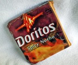 Recycled Doritos Bag Pouch