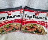 Recycled Ramen Noodle Pouch - Red