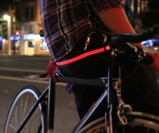 Red HALO LED Sport Belt