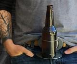The BevBuckle - Retractable Drink Holder Belt Buckle