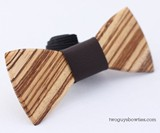 The Mr. T Wooden Bowtie