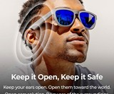 Zungle V2 Viper Bone Conduction Headphone Sunglasses