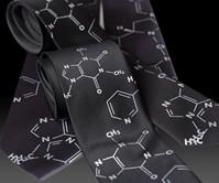 Coffee & Cigs - Addictive Molecules Tie