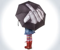 F*ck the Rain Umbrella