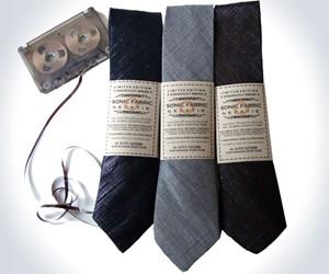 Retro Cassette Ribbon Necktie