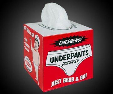 Emergency Underpants Dispenser