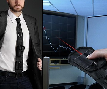 Laser Pointer Tactical Necktie
