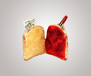 Peanut Butter & Jelly Wallet