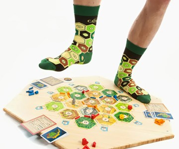Settlers of Catan Socks