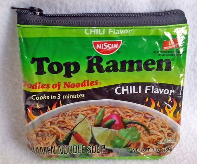 Recycled Ramen Noodle Pouch