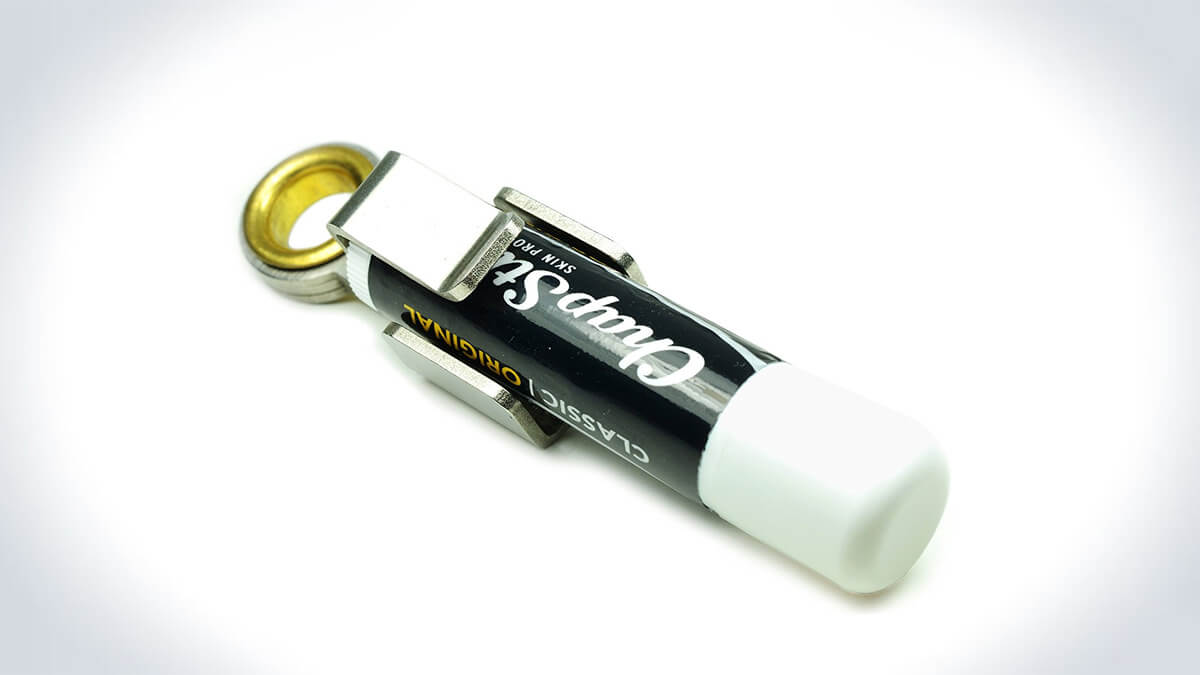 Screwpop Chapstick Holder Keychain